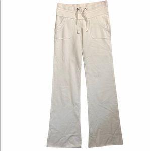 Talula white cotton jogging pants
